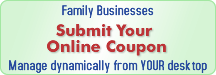 Submit Your Online Coupon